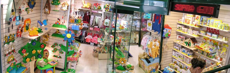 Un negozio fuori dagli schemi