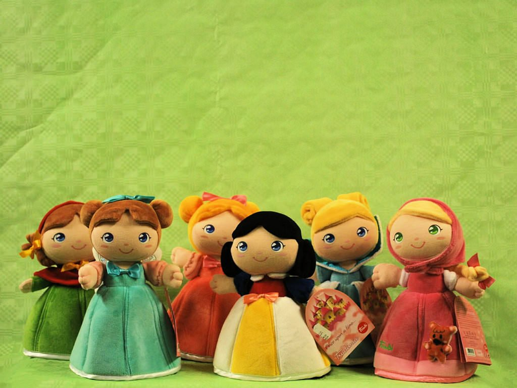 Bambola Biancaneve Trudi Bambola Raperonzolo Trudi Bambola Cenerentola Trudi Bambola Orsetto Trudi Bambola Cappuccetto Rosso Trudi Bambola Dalia Trudi
