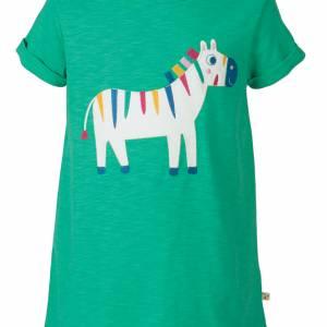 T-shirt con zebra