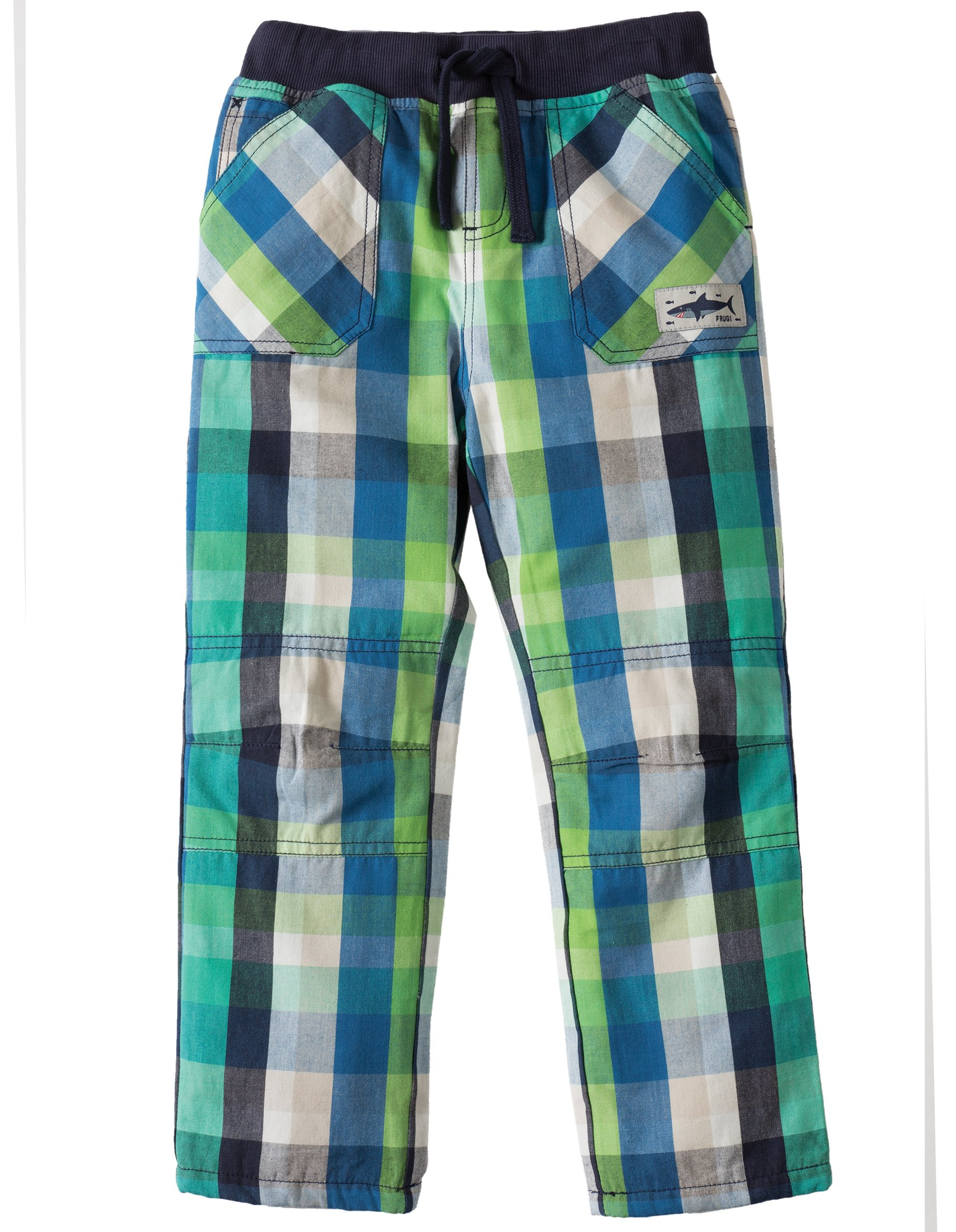 Pantaloni a quadri verdi 3