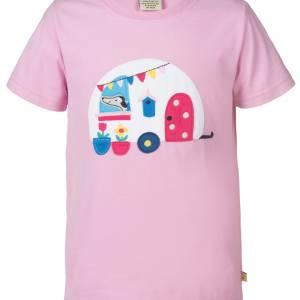 T-shirt con roulotte