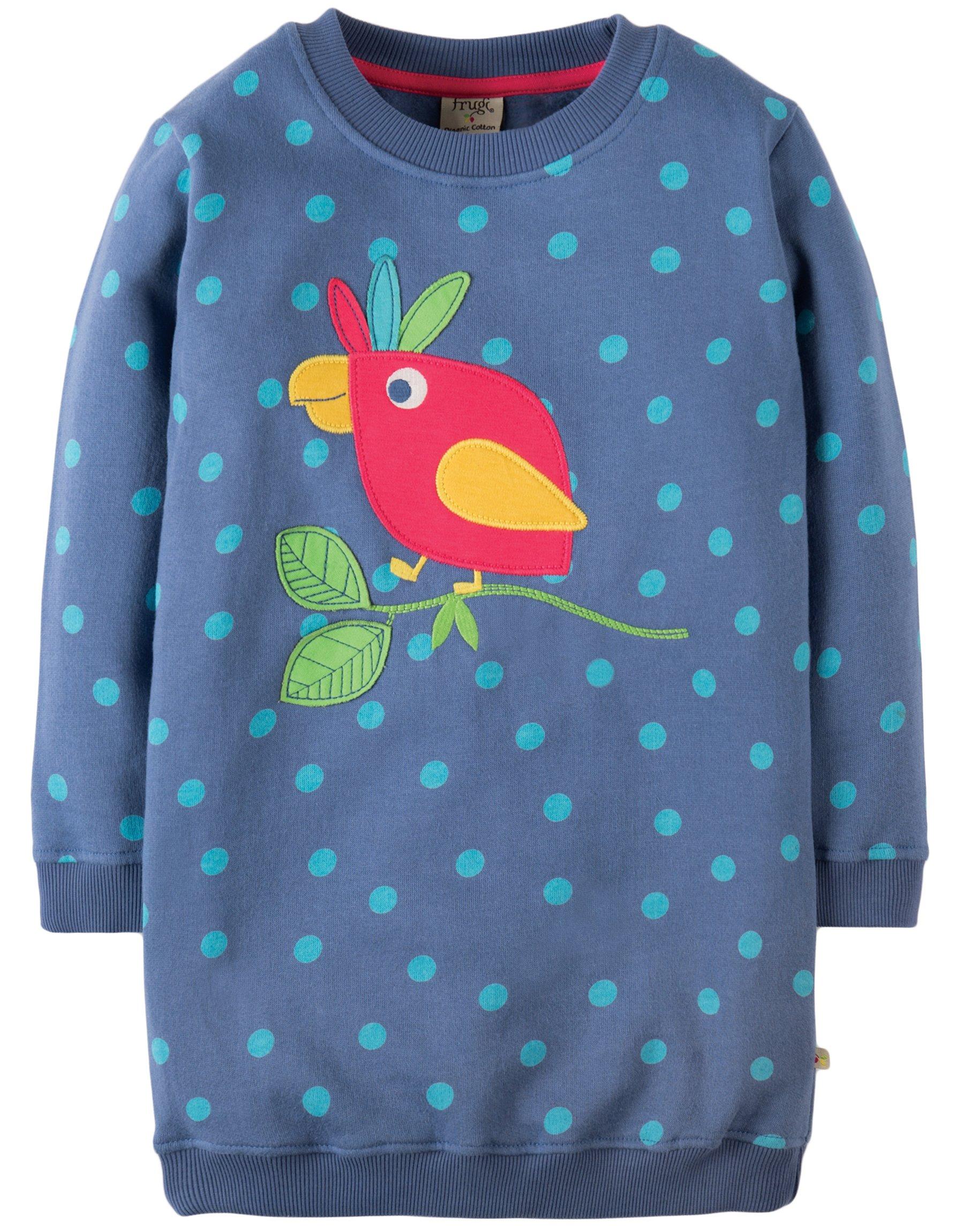 felpa lunga con pappagallo 1