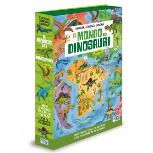 libro puzzle dinosauri