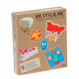Recycle Me Art Project 5 uova