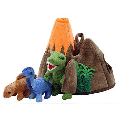 dinosauri vulcano marionette