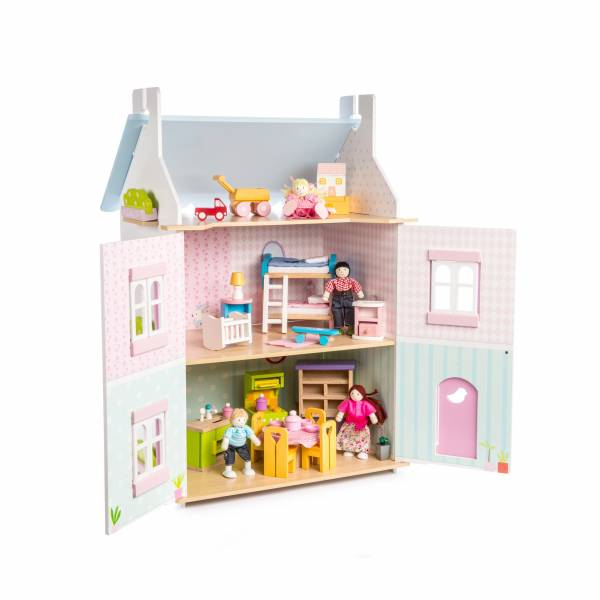 Blue Bird Cottage Le Toy Van Casa delle Bambole 2