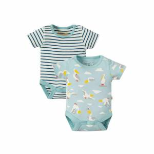 Bailey 2 Back Bodies righe Frugi