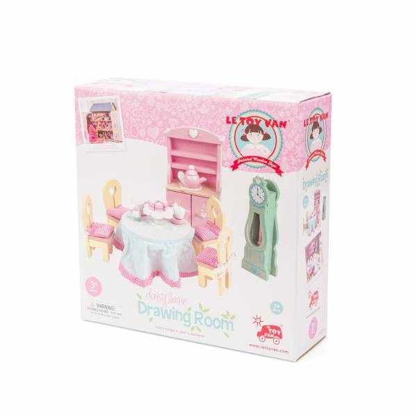 Daisylane Drawing Room Le Toy Van Casa delle Bambole 2