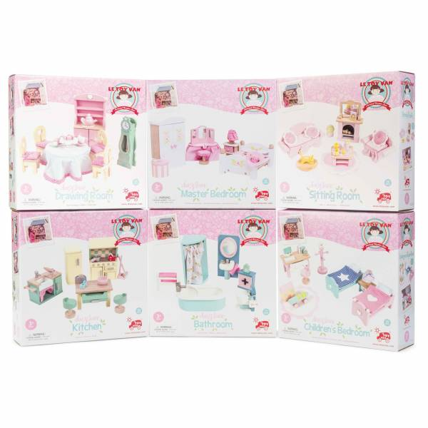 Daisylane Drawing Room Le Toy Van Casa delle Bambole 3
