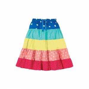 gonna Dorothy Twirly Skirt arcobaleno Frugi