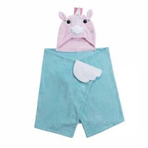 Hooded Towel unicorno asciugamano Zoocchini