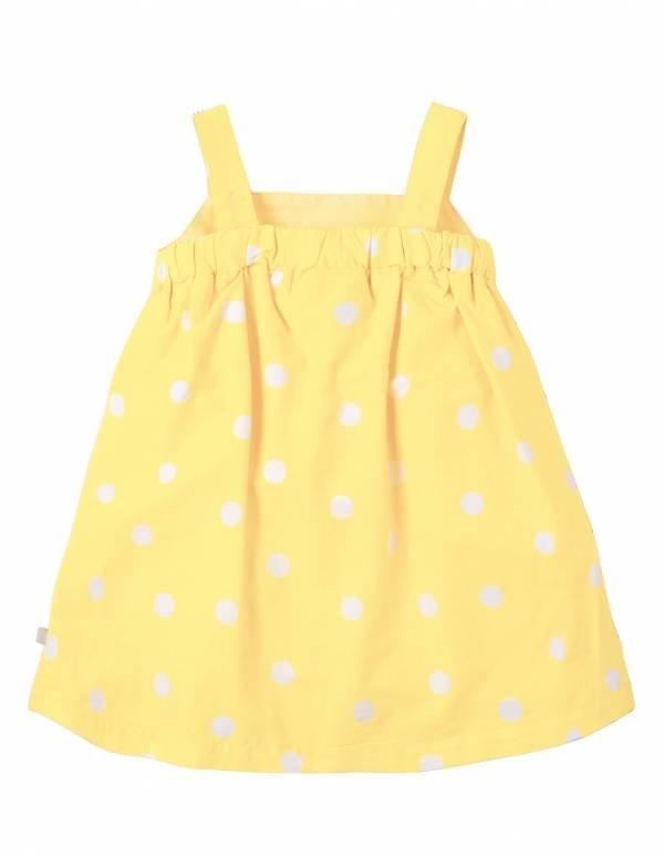 Jess Frugi Party Dress giallo retro