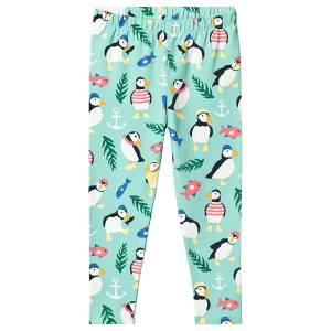 pantaloni Libby Printed Leggings puffin Frugi