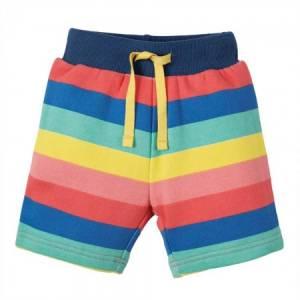 pantaloncini Little Sidney Shorts arcobaleno Frugi
