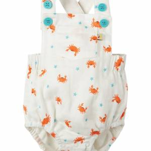 salopette Mabel Muslin Dungaree granchio Frugi