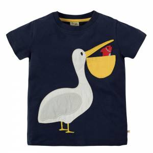 Pete Pocket T-shirt pellicano Frugi