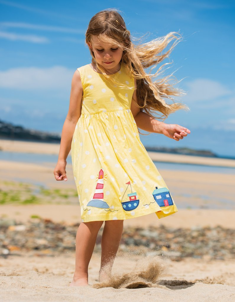 abito Porthcurno Party Dress bimba Frugi