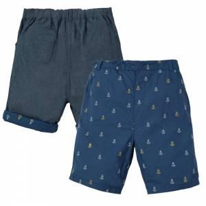 pantaloncino Ralph Reversible Shorts ancora Frugi