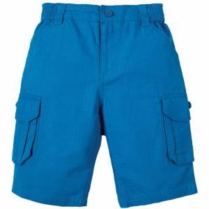 pantaloncino Ripstop Shorts blu Frugi