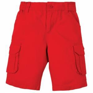 pantaloni Ripstop Shorts rosso Frugi