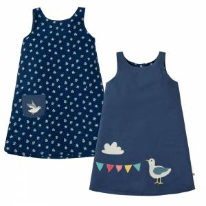abito Rose Reversible Dress Frugi