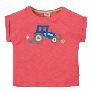 Sophia Slub T-shirt trattore Frugi