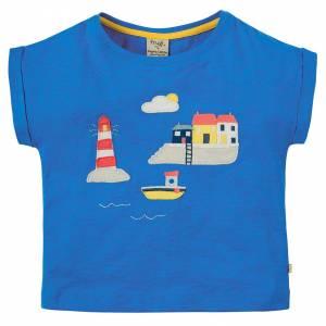 Sophia Slub T-shirt trattore porto Frugi