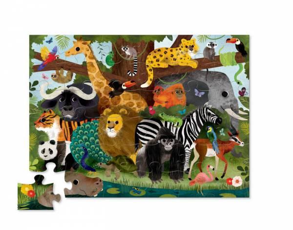 Puzzle Crocodile Creek Jungle Zoo 2